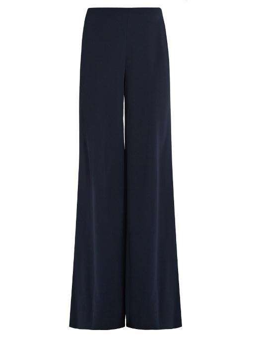 Diane Von Furstenberg Preston Trousers In Navy