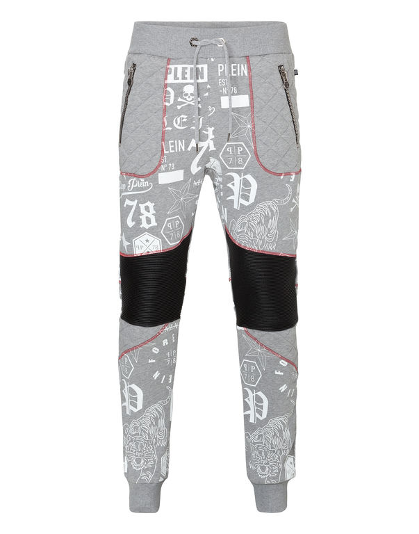 "Philipp Plein Jogging Trousers ""red Particular"""
