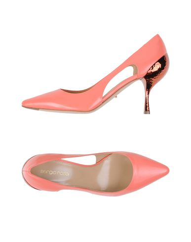 Sergio Rossi Pumps In Salmon Pink