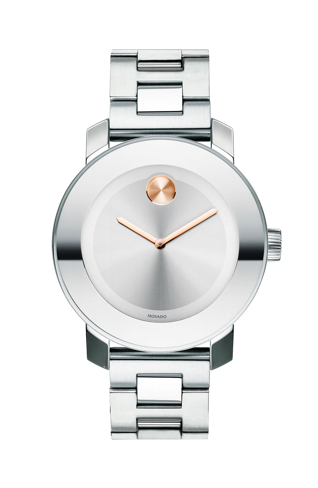 Movado Bold Medium Stainless Steel Watch, 36Mm In Silver