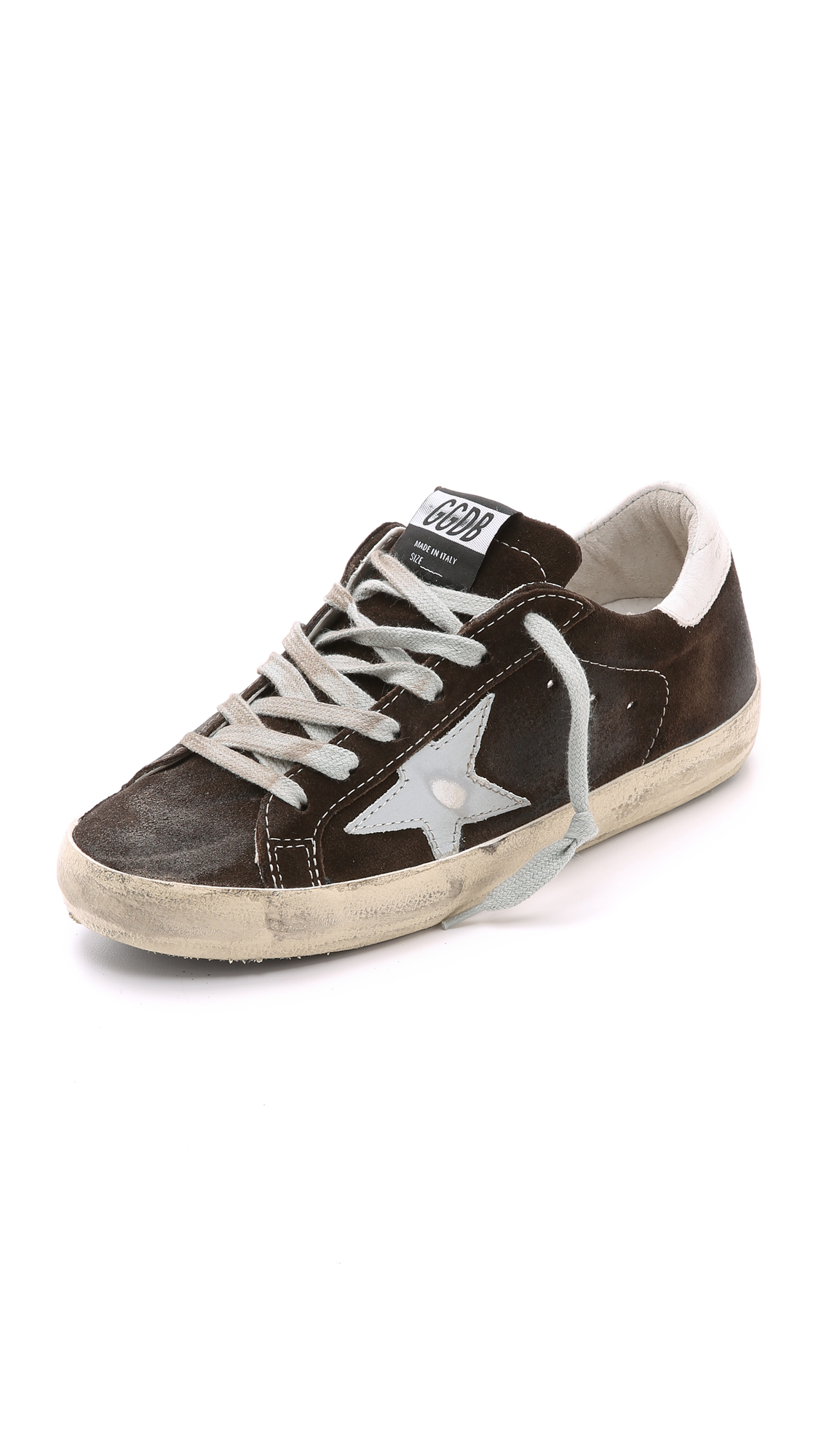 Golden Goose Superstar Sneakers In Brown