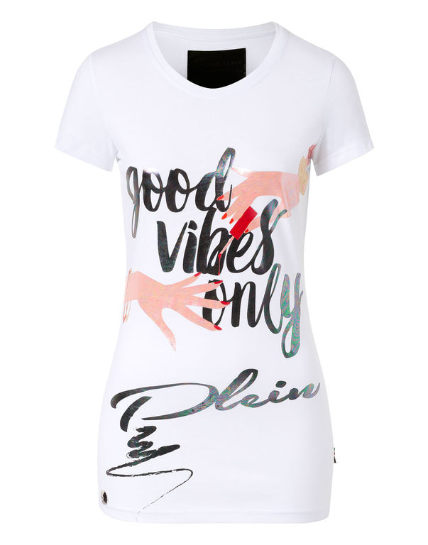 "Philipp Plein T-shirt ""vibes"""