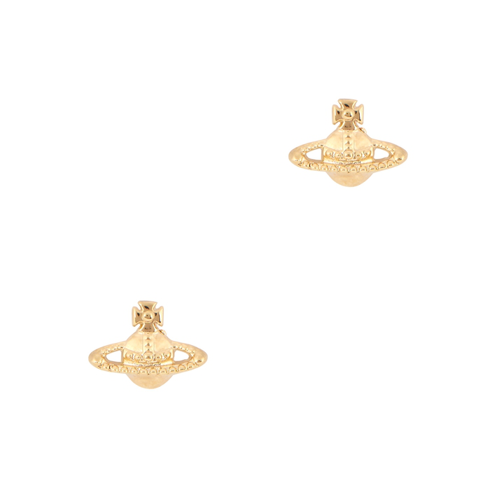 f28805664 Vivienne Westwood Farah Gold-Tone Stud Earrings. Harvey Nichols