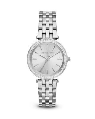 Michael Kors Mini Darci Watch, 33mm In Silver