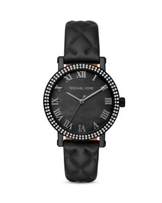 Michael Kors Norie Watch, 38mm In Black