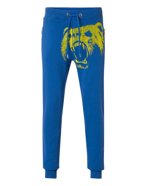 "Philipp Plein Jogging Trousers ""animal Call"""