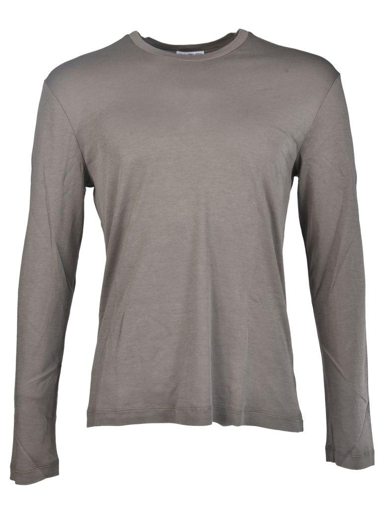 James Perse Long-sleeved T-shirt In Grey