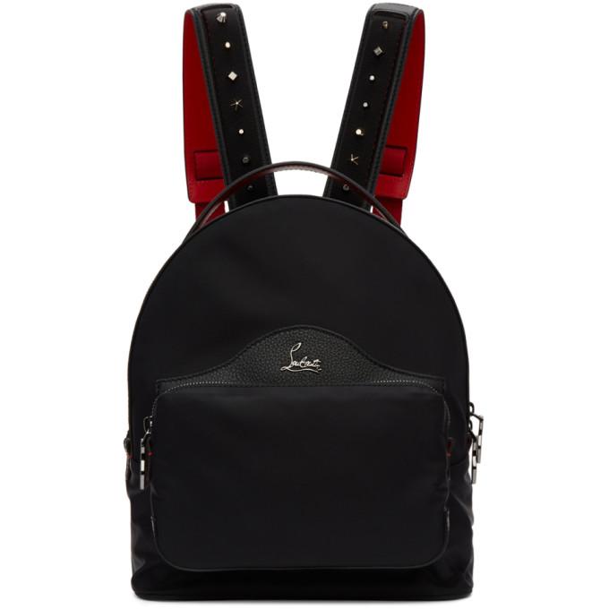 e908d3deda4 Christian Louboutin Black Backloubi Backpack in Cm53 Black