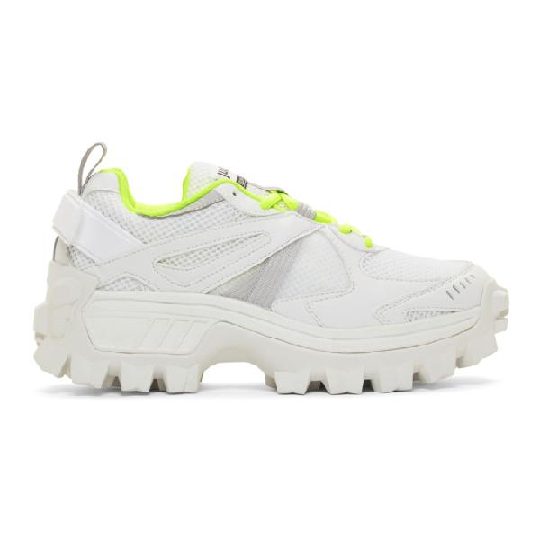 Juun.j Chunky Sneakers In 1 White