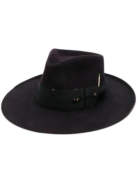 Nick Fouquet Buena Vista Hat In Black