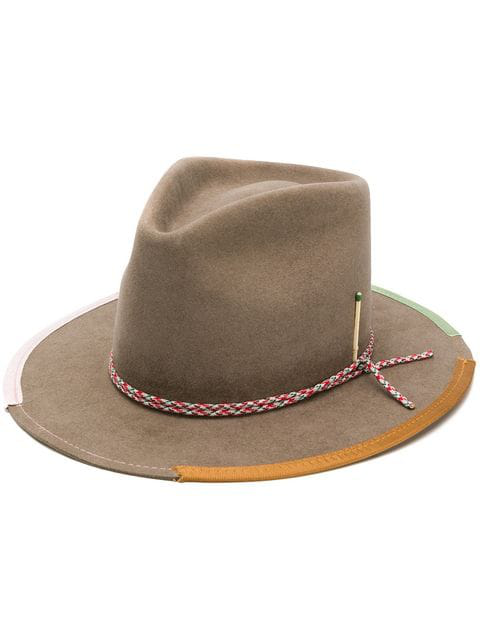 Nick Fouquet Donjr Hat In Neutrals
