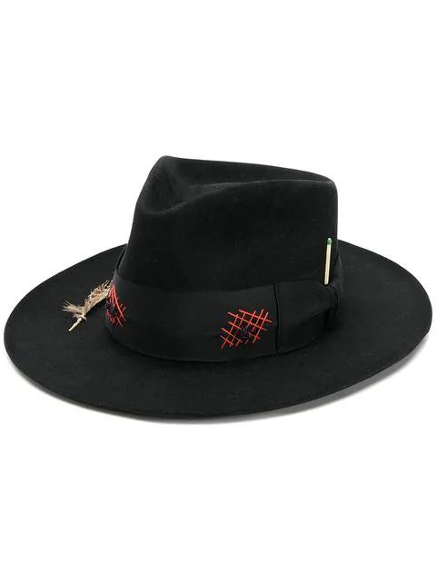 Nick Fouquet Ladron Hat In Black