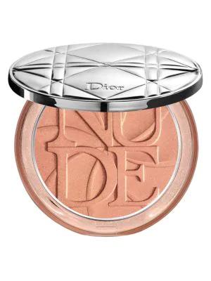 Dior Limited Edition Skin Nude Lolli'Glow Powder Luminizer In 007 Peach Delight