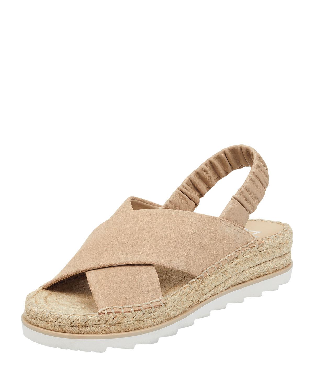 d7c1bb9efc5 Marc Fisher Pella Suede Espadrille Sandals In Light Natural | ModeSens