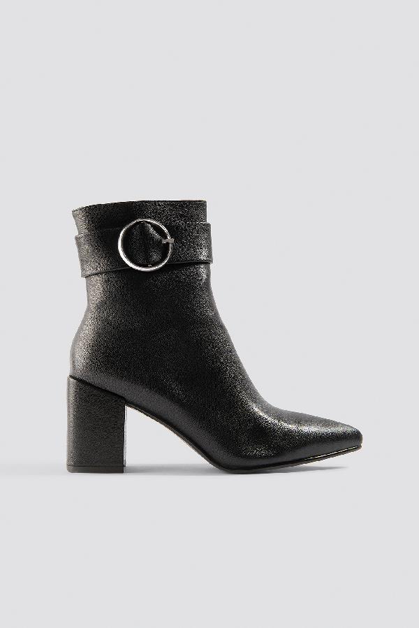 Chloé B X Na-kd Buckle Boots Black