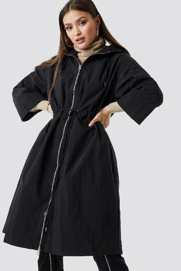 ChloÉ B X Na-kd Anorak Jacket Black
