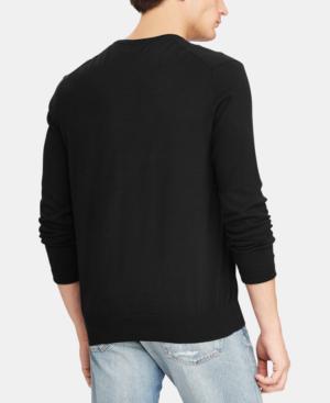 Polo Ralph Lauren V-Neck Sweater In Black