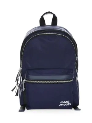 Marc Jacobs Trek Pack Large Backpack In Midnight Blue