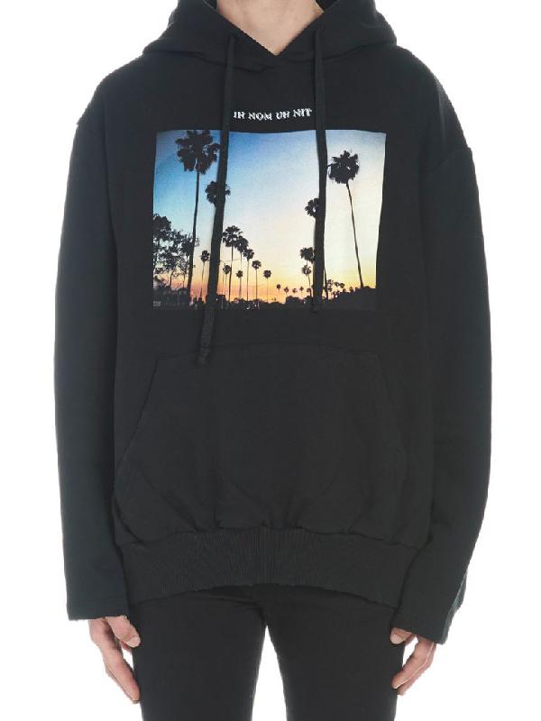 Ih Nom Uh Nit Sunset Hoodie In Black