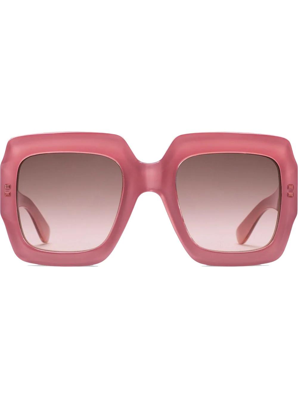 d52095cfdd3 Gucci Eyewear Square-Frame Sunglasses - Pink