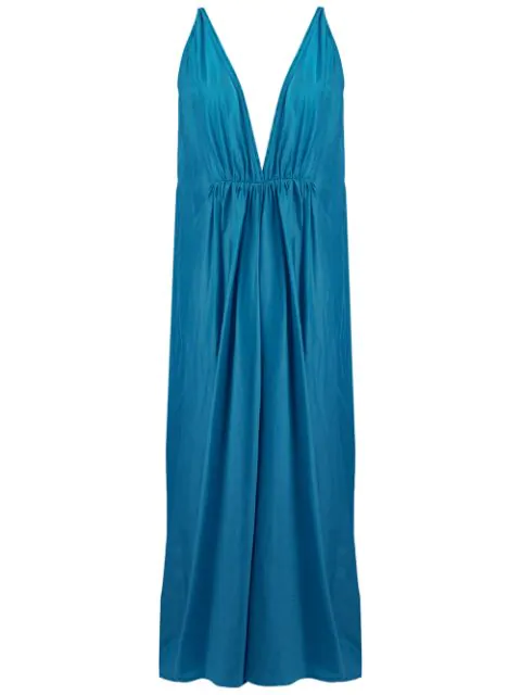 Kalita Clemence Maxi Dress In Blue