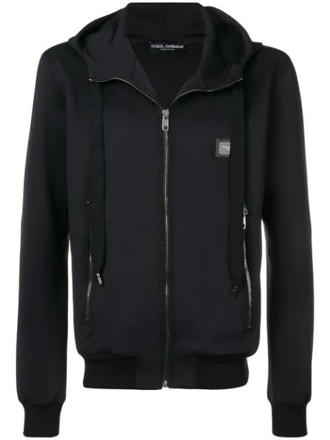 Dolce & Gabbana Classic Sports Jacket In Black
