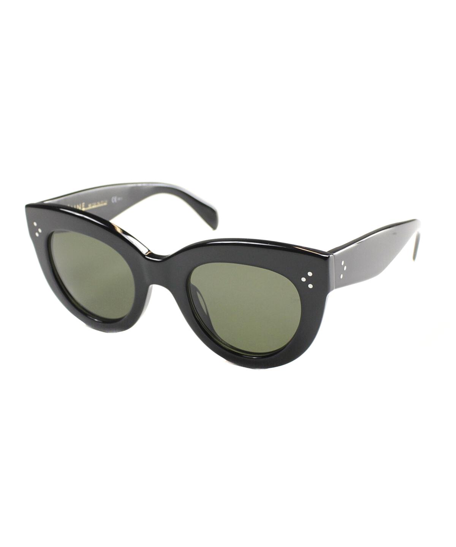 Celine Cat-eye Plastic Sunglasses In Black