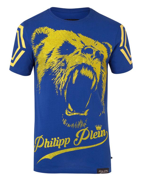 "Philipp Plein T-shirt Round Neck Ss ""feel """
