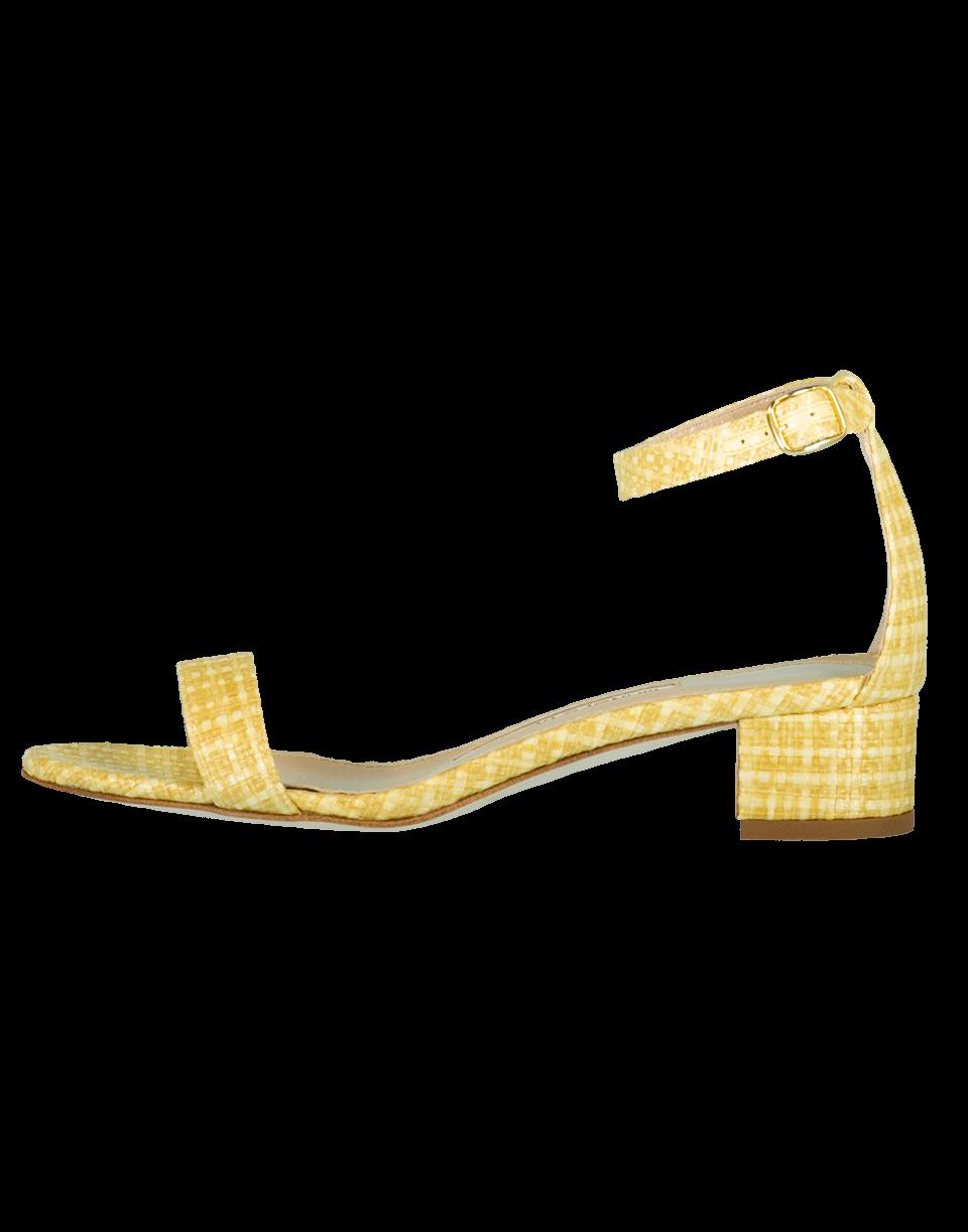 Manolo Blahnik Chaflahi Block Heel Sandal In Beige