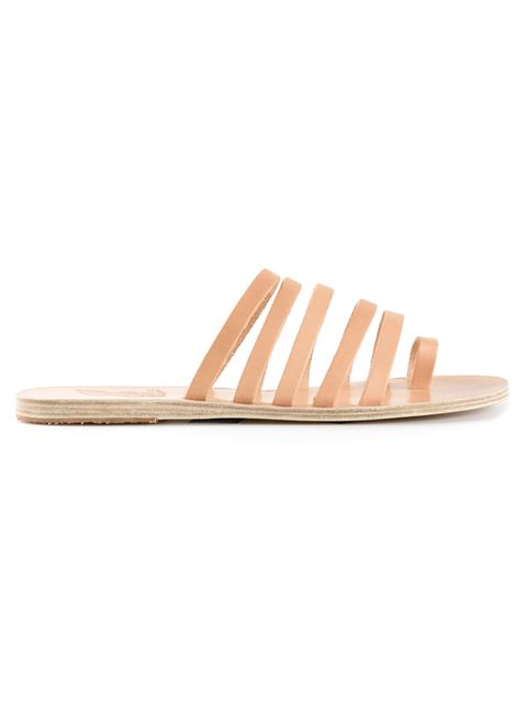 Ancient Greek Sandals Niki Leather Sandals In Eatural