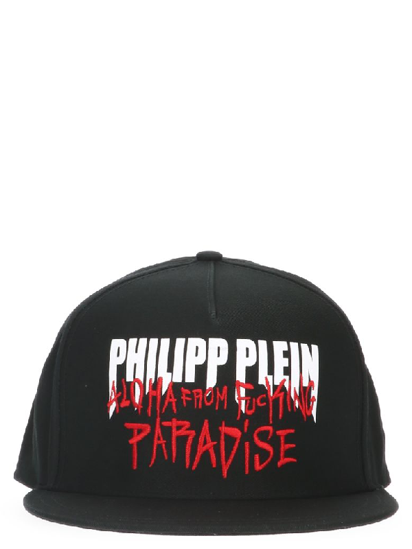 9d7b0c33e0633 Philipp Plein Cap In Black