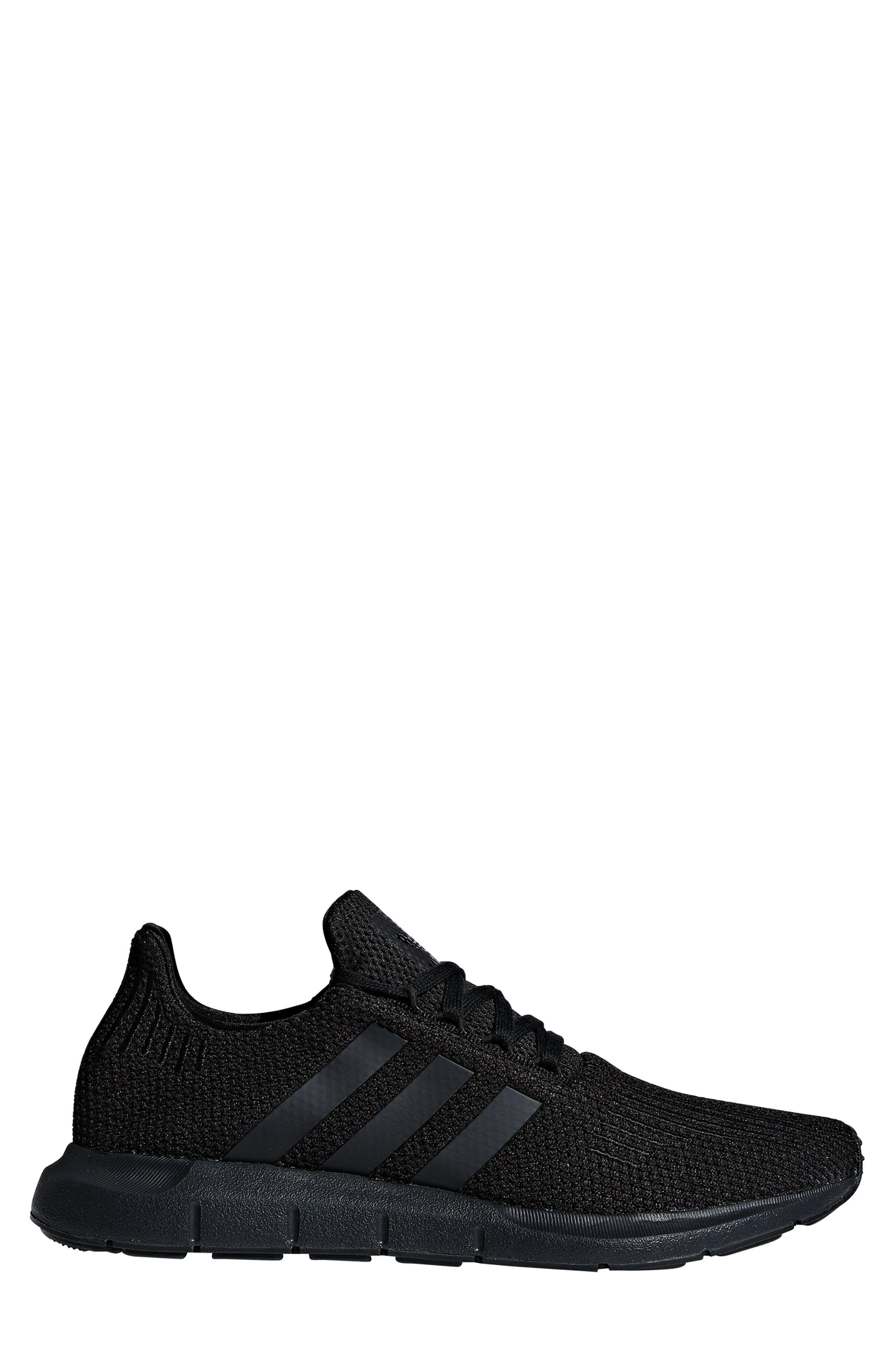 3634ea0ac62c3 Adidas Originals Swift Run Running Shoe In Core Black  Core Black  White
