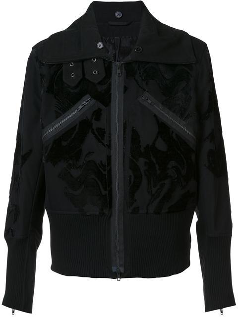 Ann Demeulemeester 'craven' Jacket - 099 Black