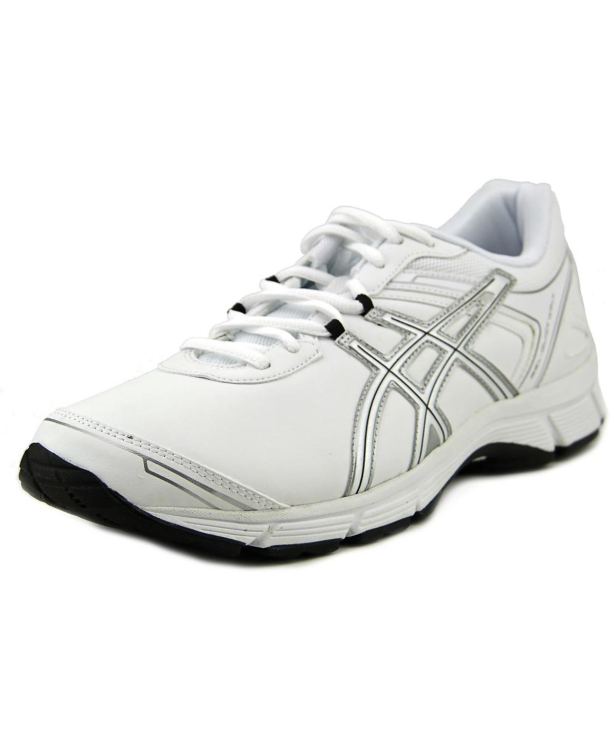 Asics Gel-quickwalk 2 Sl Men  Round Toe Synthetic White Sneakers