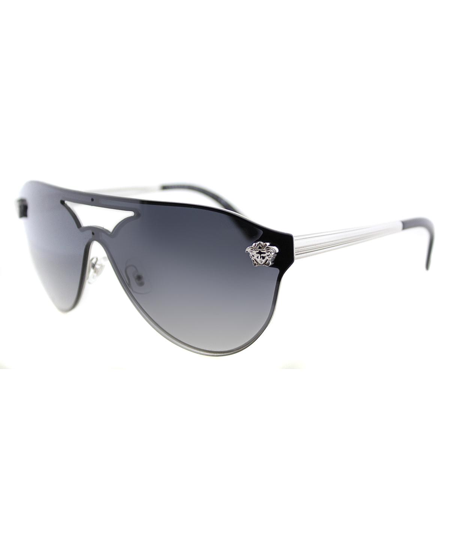 Versace Fashion Metal Sunglasses In Black Grey
