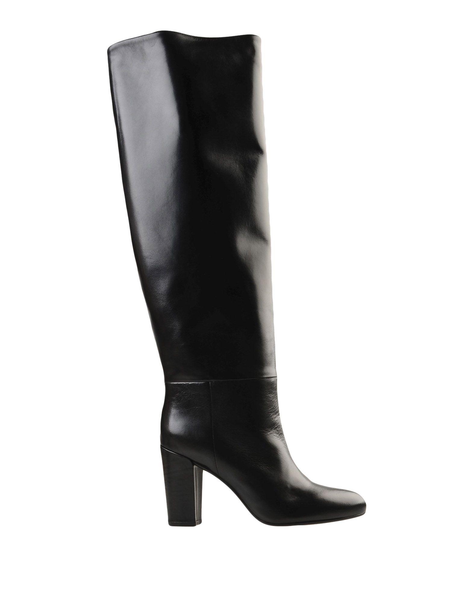 Essentiel Antwerp Knee Boots In Black