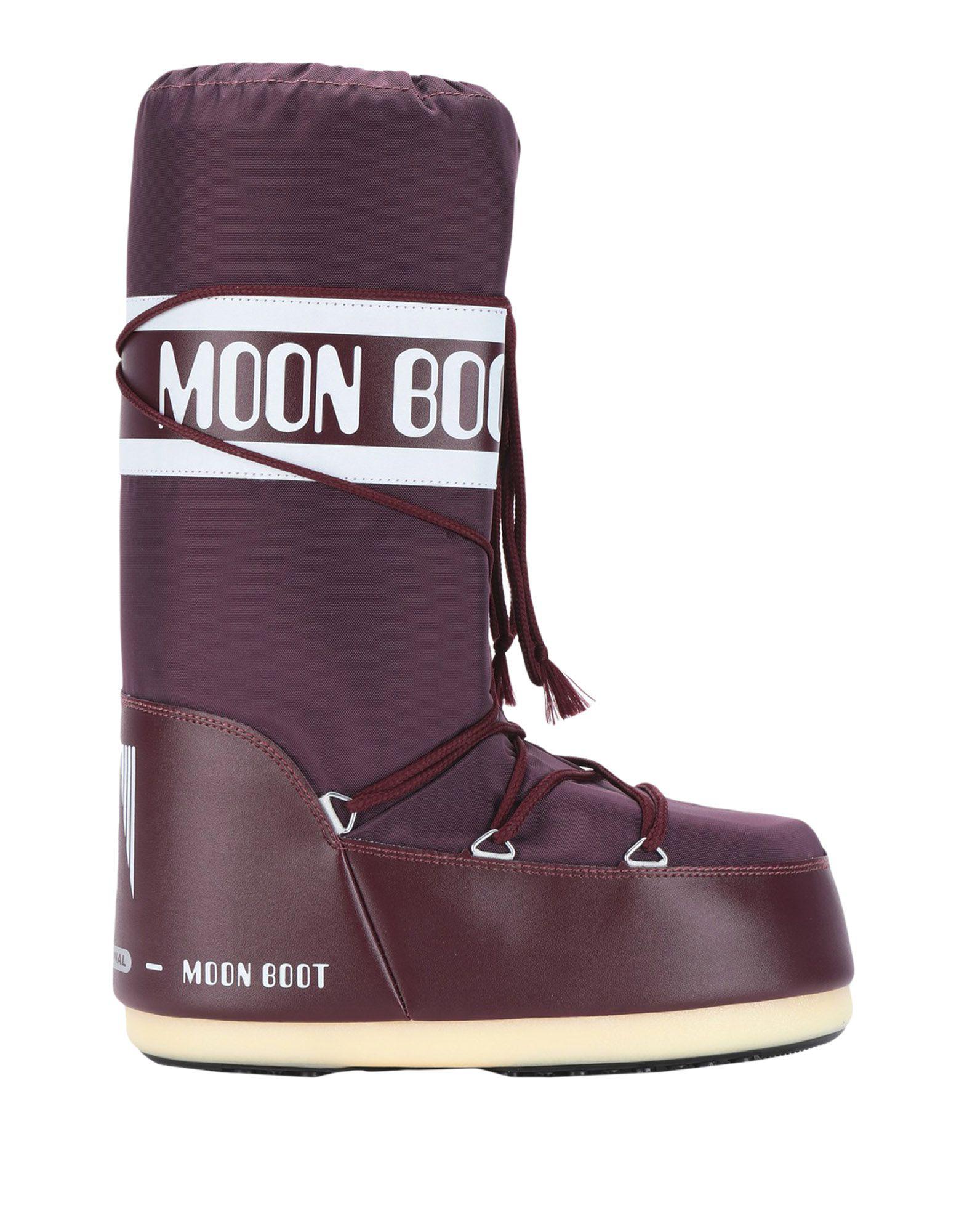 Moon Boot Boots In Deep Purple