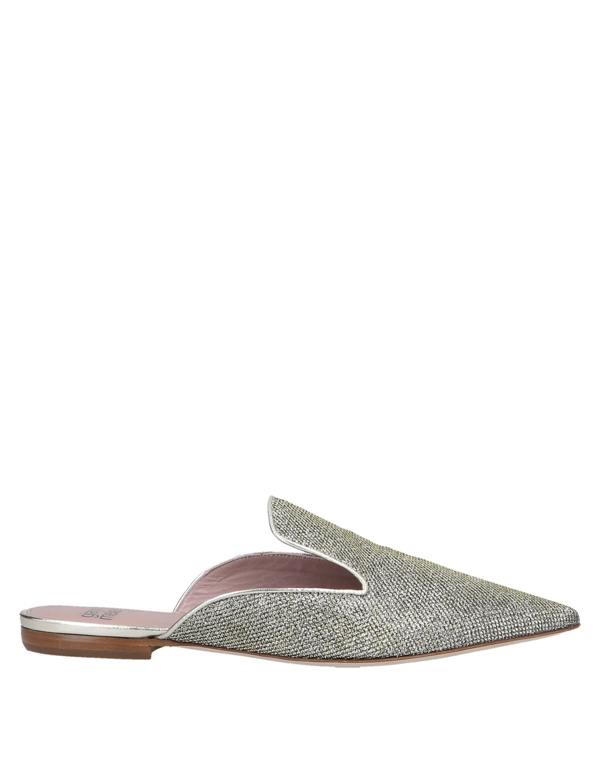 Gianna Meliani Mules And Clogs In Platinum