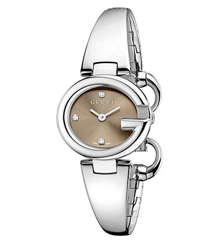 Gucci Ssima Watch, 27mm In Na