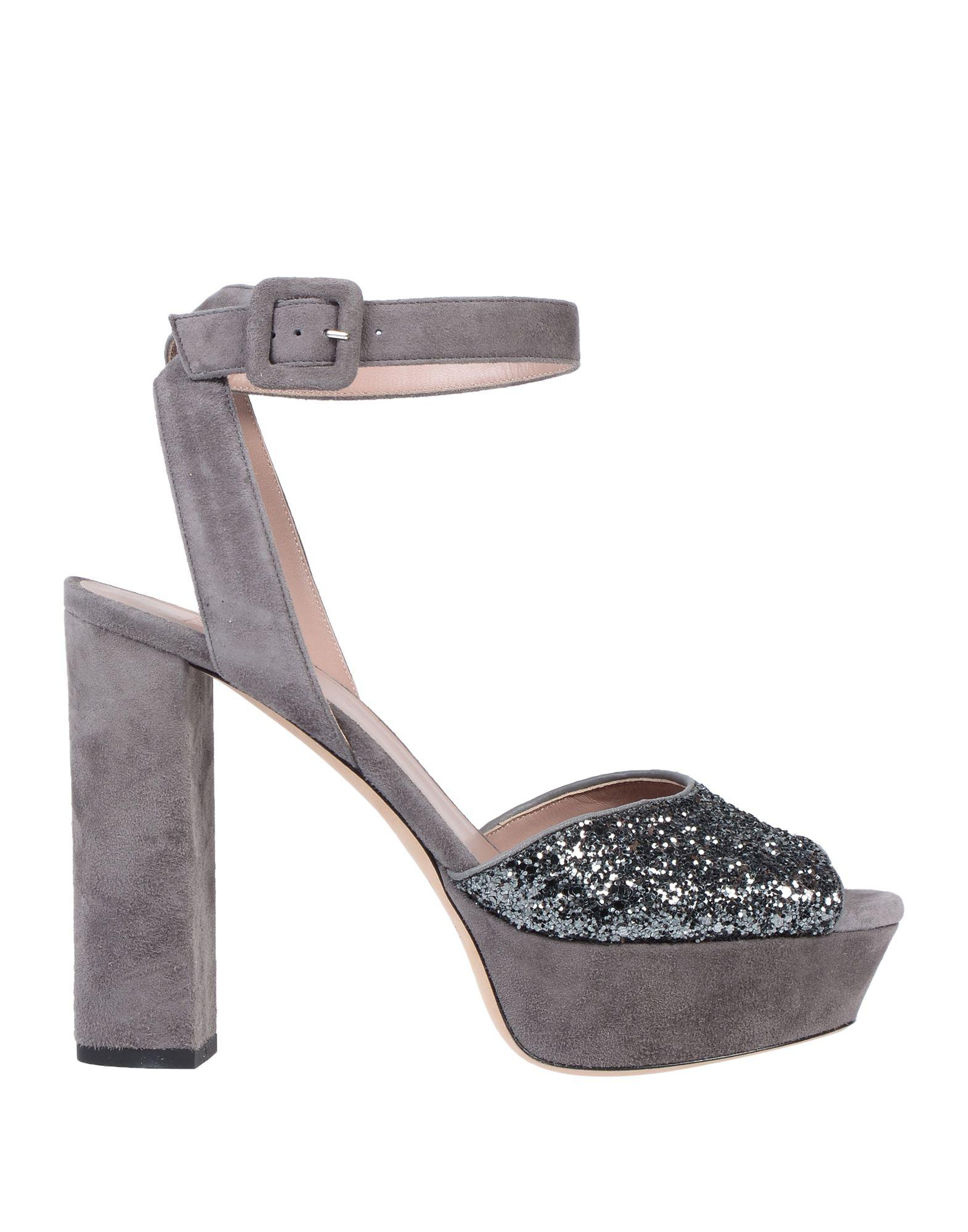 Gianna Meliani Sandals In Grey