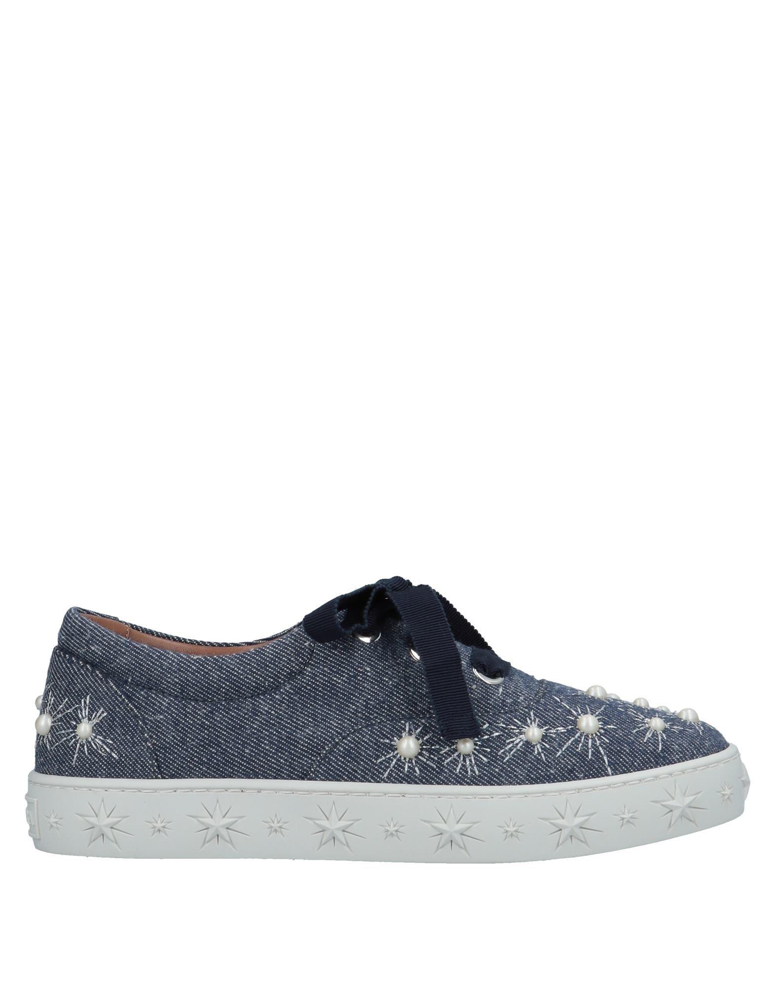 Aquazzura Sneakers In Blue