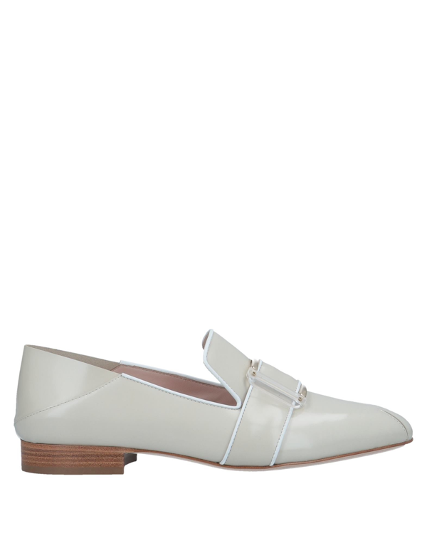 Pollini Loafers In Light Grey