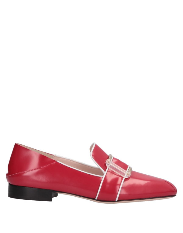 Pollini Loafers In Red