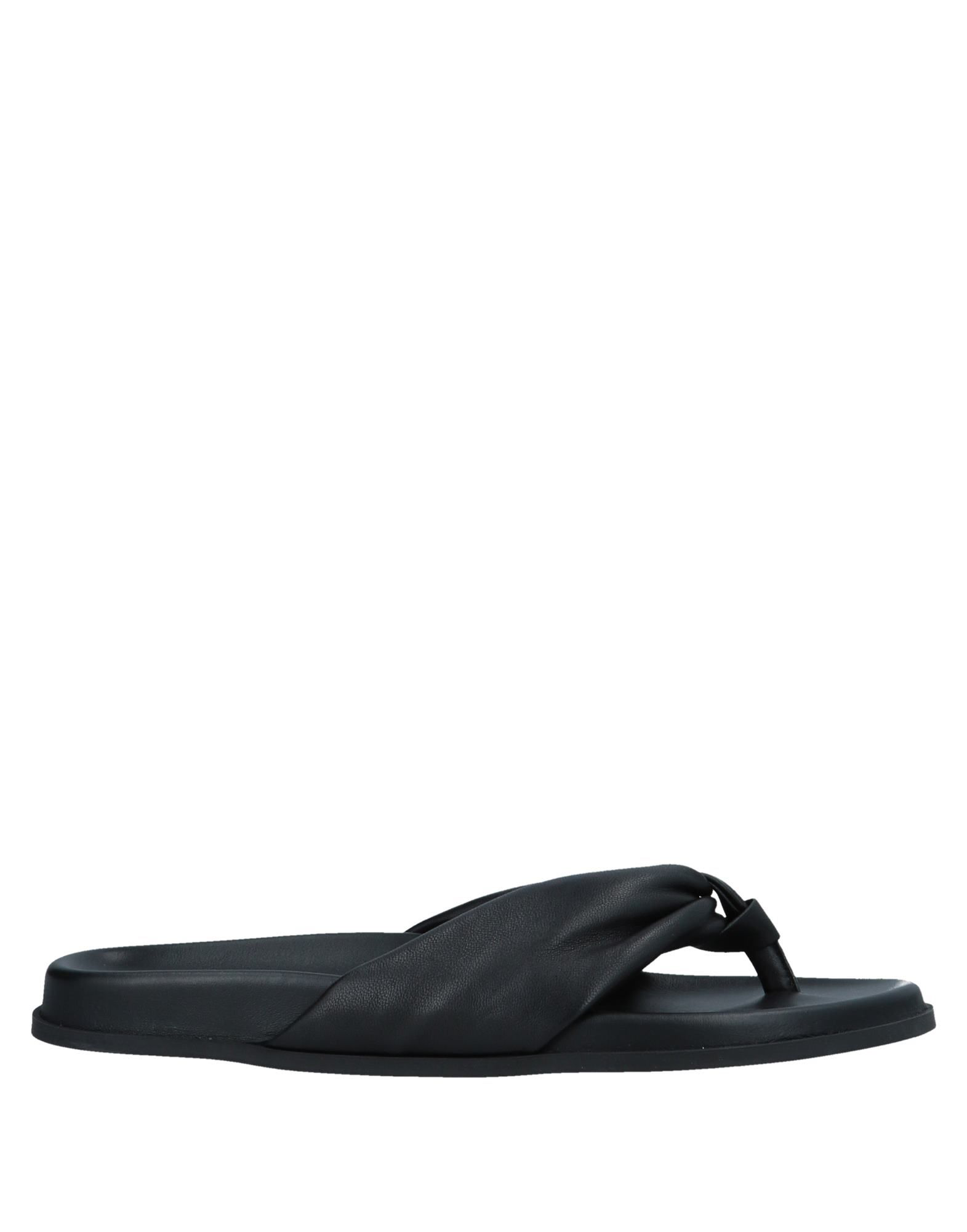 Helmut Lang Flip Flops In Black