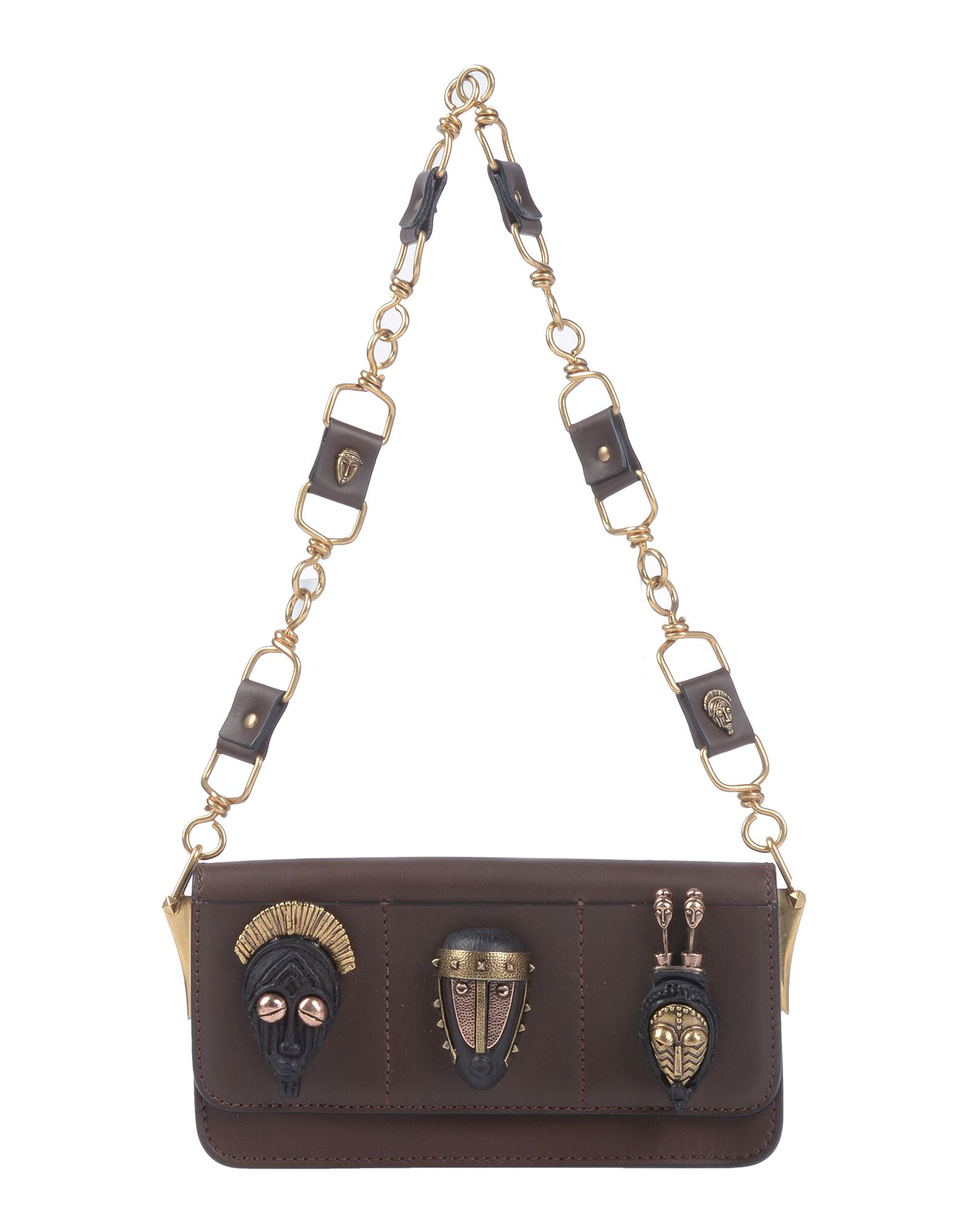 Valentino Handbags In Dark Brown