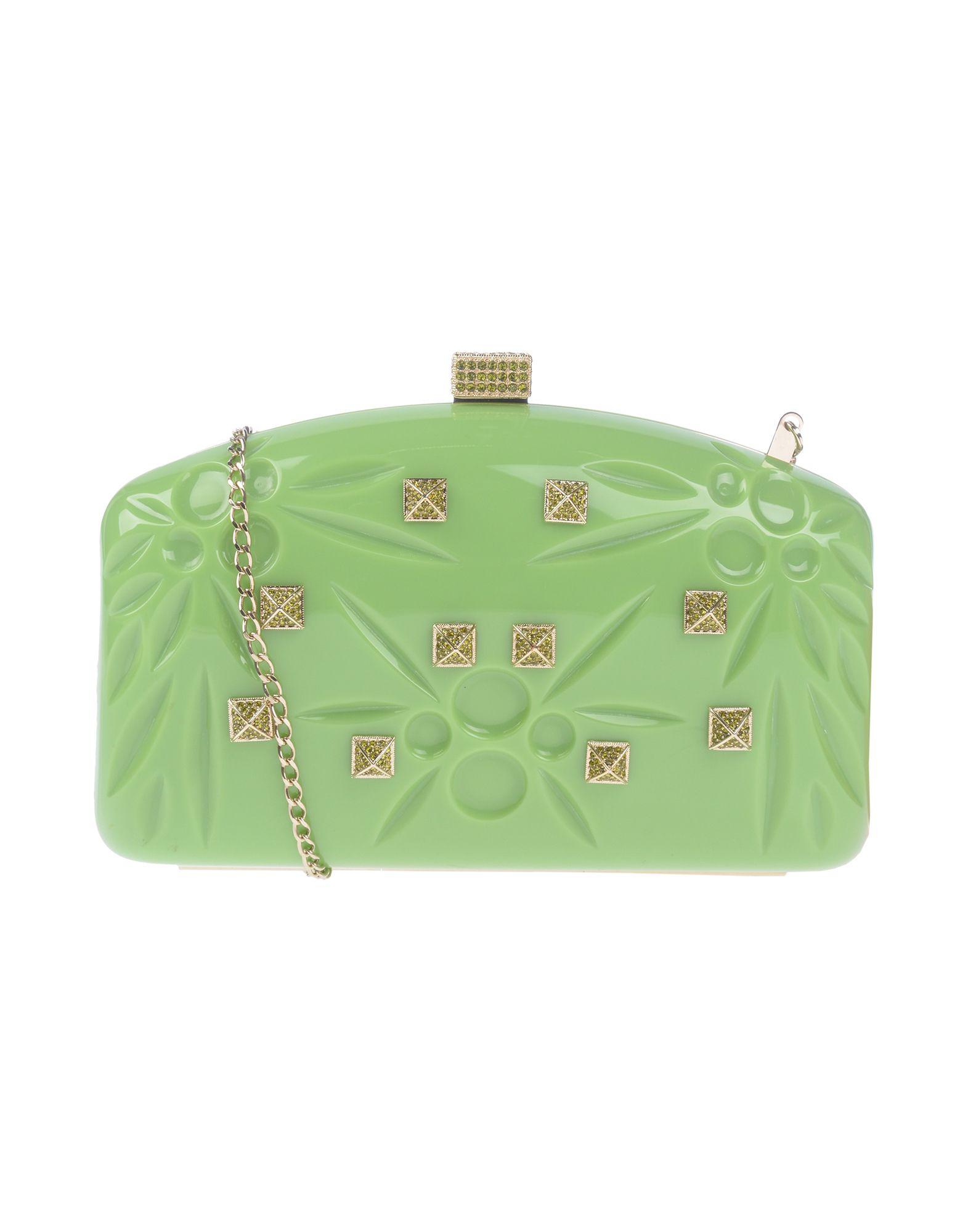 Valentino Handbag In Light Green