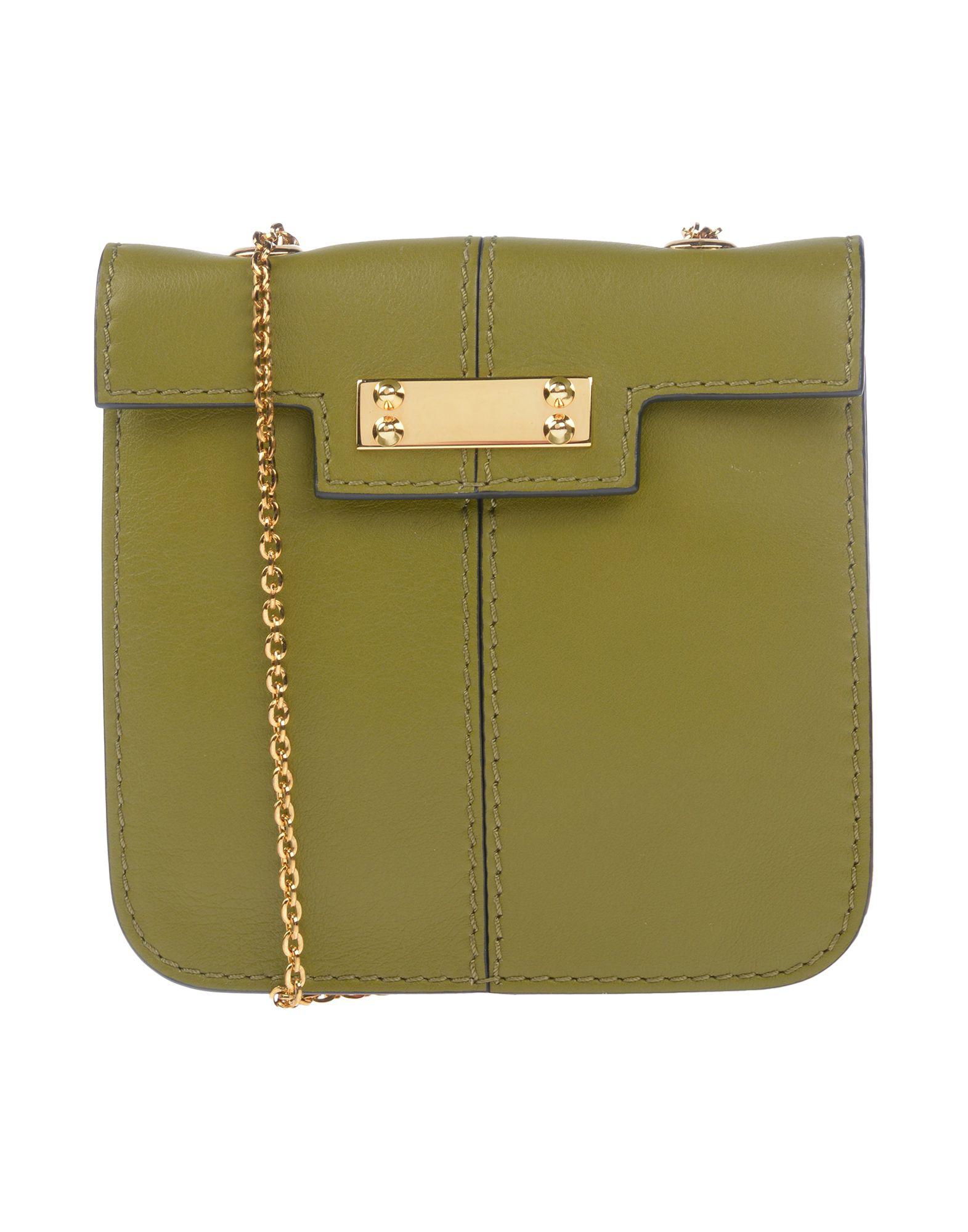 Valentino Shoulder Bag In Military Green