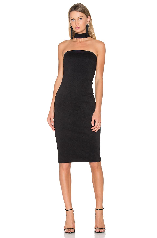 771728b1107740 Amanda Uprichard Kimora Dress In Black