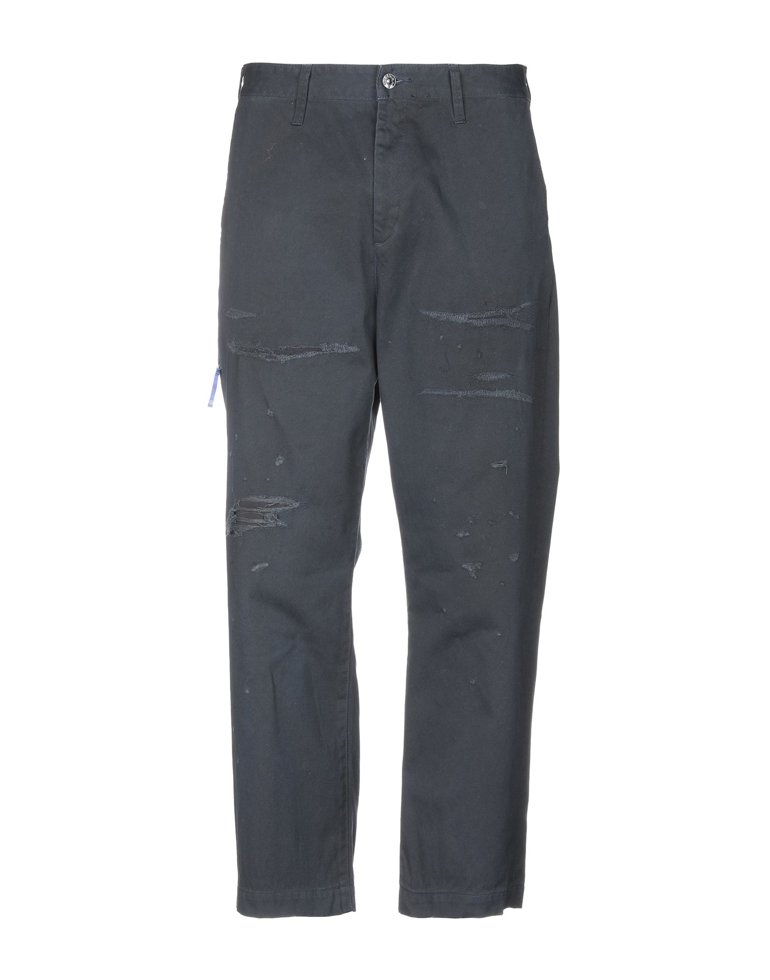 Vanquish Casual Pants In Dark Blue