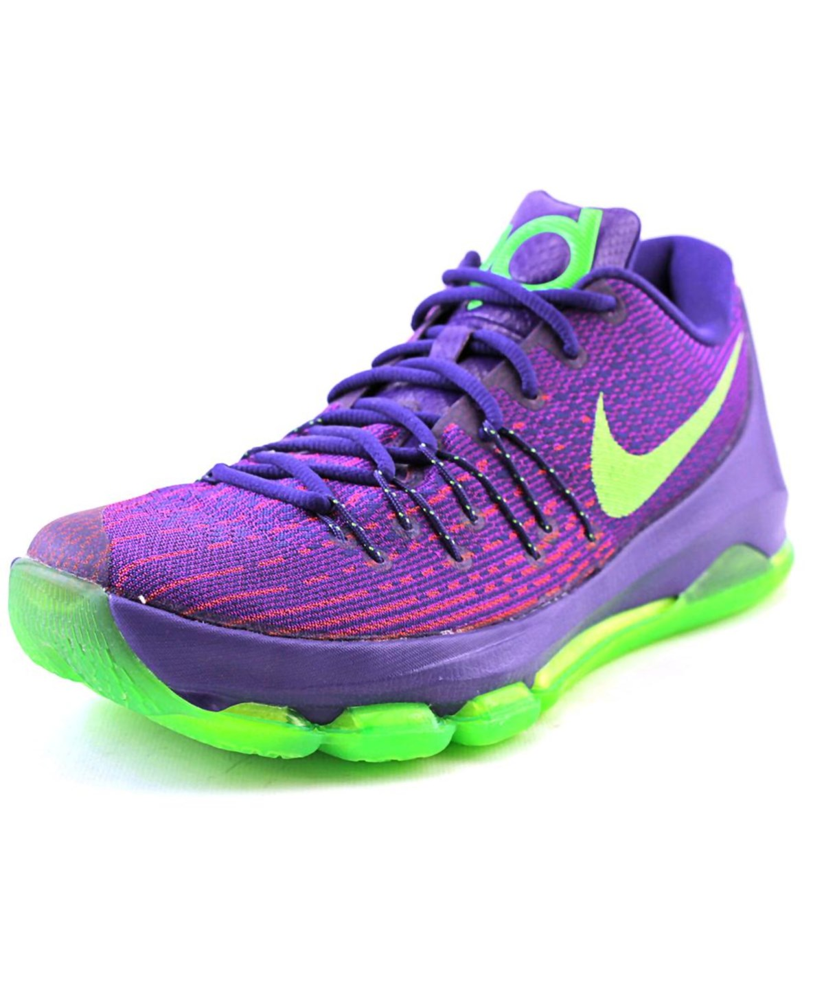 espacio Hormiga Borrar  Nike Kd 8 Men Round Toe Synthetic Purple Basketball Shoe' | ModeSens